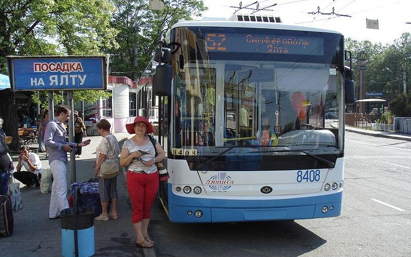 Междугородный троллейбус