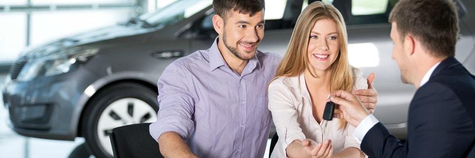 Получение ключей от арендованного автомобиля