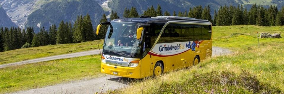 Автобус компании Grindelwald Bus