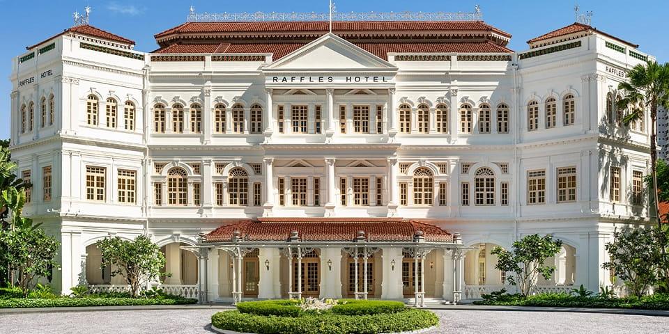 Отель Raffles в Сингапуре