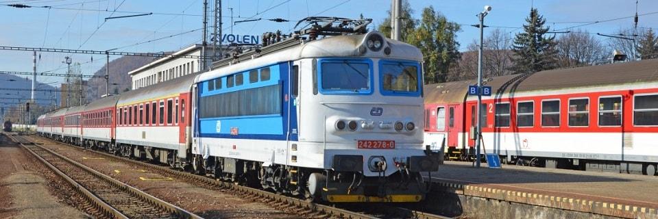 Поезд на станции Zvolen
