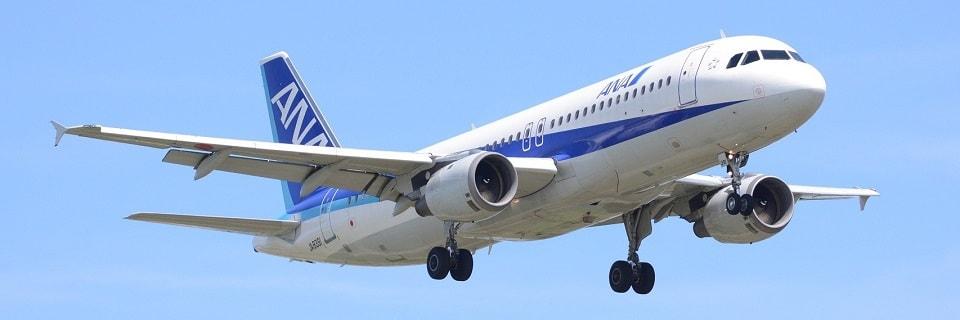 Самолет авиакомпании ANA